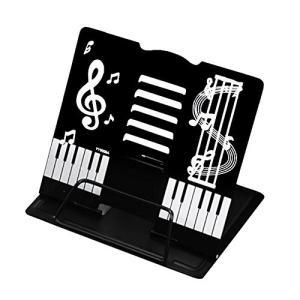 かわいい折りたたみ卓上の譜面台 書見台としても (黒) punipunimall
