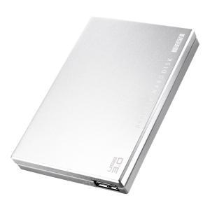 アイ・オー・データ機器 USB3.0/2.0ポータブルHDD超高速カクウスシルバー 500G HDPC-UT500SE 【旧モデル】|punipunimall