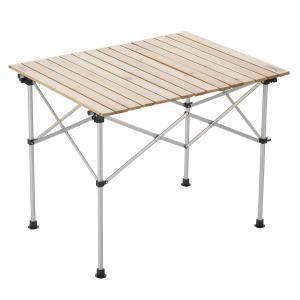 コールマン(Coleman) テーブル ナチュラルウッドロールテーブル 90 2~4人用 20000...