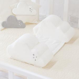 寝返り防止クッション 【クラウド】 赤ちゃん ベビー 新生児 ベビー布団 うつ伏せ防止|puppapupo