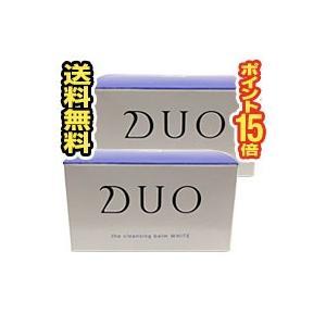 ■2個セット・送料無料・ポイント15倍■DUO(デュオ) ザ クレンジングバーム ホワイト(90g)(bea-14543-4589659140153-2)|pupuhima