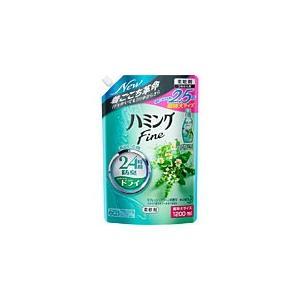 ハミングファイン リフレッシュグリーンの香り つめかえ用 スパウトパウチ  1200mL