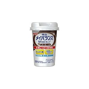 明治メイバランスMiniカップ コーヒー味 125mL 明治