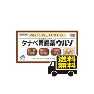 ☆メール便・送料無料☆ タナベ胃腸薬ウルソ  20錠  【第...