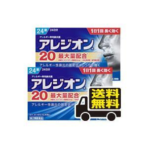 ■成分・分量 1錠(1日量)中 エピナスチン塩酸塩・・ 20mg   ■内容量 24錠入り×2個セッ...