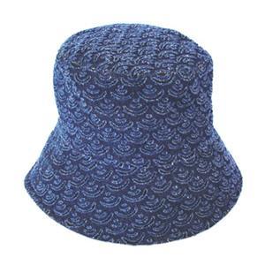 和柄帽子 デストロ 青海波|pura-pura