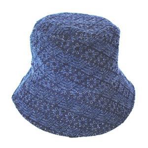 和柄帽子 デストロ 花|pura-pura