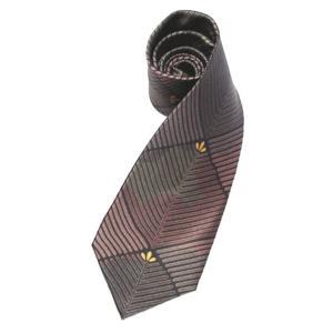 和柄ネクタイ 迷彩松葉|pura-pura