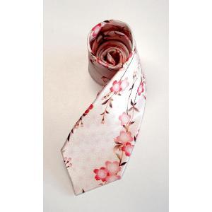桜ネクタイ ピンク|pura-pura