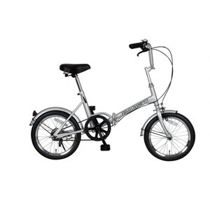 FIELD CHAMP365 FDB16 / 16インチ折畳自転車 シルバー No.72750|puraiz