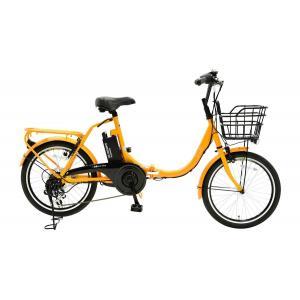 【★メーカーより最短出荷!銀行振込なら1000円引き★】 EISAN 折り畳み式 電動アシスト自転車 swifti20オレンジ|puraiz