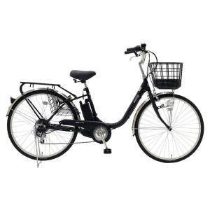 【★メーカーより最短出荷!銀行振込なら1000円引き★】 EISAN 電動アシスト自転車 BENERO26-BLK 6Ah ブラック|puraiz