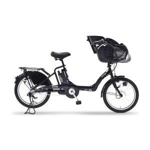【メーカー直送!代引き不可】EISAN 幼児2人乗せ電動アシスト自転車 BENERO203 BK(色:黒) 8.4Ahバッテリー + 専用充電器|puraiz