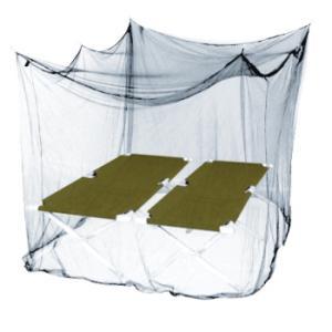 インセクトシールド 虫よけ モスキートネット(蚊帳)ホワイト ダブル|puraiz