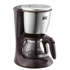 コーヒーメーカー【エズ】ダークブラウン 5杯用 SKG56-T|puraiz