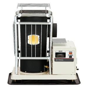 コロナ ポット式輻射暖房 中央設置 SV-1012BS 木造15畳/コンクリート24畳まで
