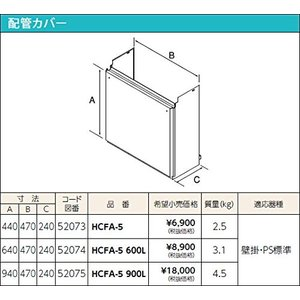 HCFA-5 600L|puraiz