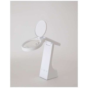 ツインバード 充電式LEDルーペライト LE-H319W ホワイト|puraiz