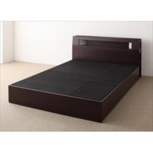 ベッド 収納付き/ベッドフレームのみ/シングル モダンライト・コンセント Viola ヴィオラ|purana25