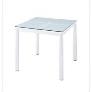 ガラスデザインダイニング De modera ディ・モデラ/テーブルW80|purana25