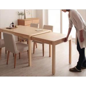 ダイニングテーブル W135-235 (単品) スライド伸縮テーブルダイニング Gride グライド purana25
