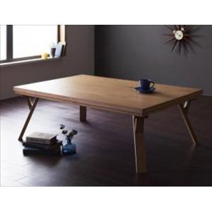 こたつテーブル/4尺長方形(80×120cm) 天然木オーク材・北欧モダンデザイン Catlaya カトレーヤ purana25