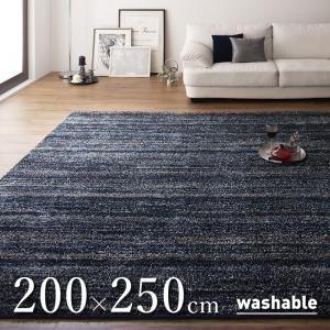 シャギーラグ/200×250cm グラデーションミックス rayures レイユール|purana25