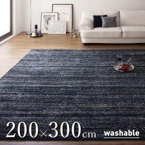 シャギーラグ/200×300cm グラデーションミックス rayures レイユール|purana25