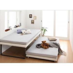 親子ベッド Bene&Chic ベーネ&チック 薄型軽量ボンネルコイルマットレス付き 上下段セット シングル|purana25