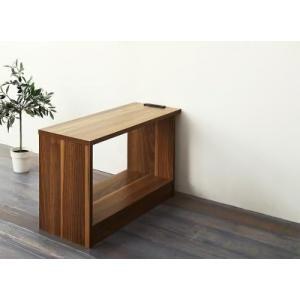 サイドテーブル W70 (単品) レイアウト自由自在大型L字ヴィンテージデザイン ELCROW エルクロウ|purana25
