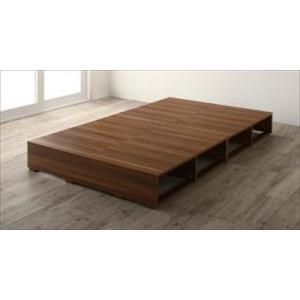 収納ベッド/シングル ベッドフレームのみ 引き出しなし 布団で寝られる バイカラー おしゃれなヴィンテージ・モダン風 purana25