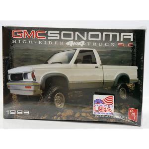1057 1993 GMCソノマ 4×4 ピックアップトラック 1/20 GMC SONOMA HIGH-RIDER 4X4 TRUCK SLE|purasen