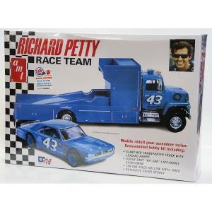1072 リチャード・ペティ ダッジダート&トレーラー 1/25 RICHARD PETTY RACE TEAM|purasen