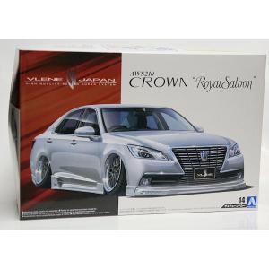 ザ★チューンドカー 14 ブレーンX10 AWS210 クラウン ロイヤルサルーン G '12 1/24|purasen