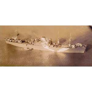 WL 限定版 日本海軍 特設水上機母艦 君川丸 <甲板シート付> ウォーターライン 1/700 purasen