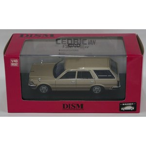 DISM 1/43 Y30 CEDRIC VAN 後期型 V20E Deluxe (イエロイッシュシルバー)|purasen