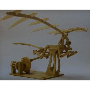 羽ばたき鳥形飛行機|purasen
