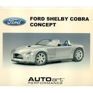 1/18 FORD SHELBY COBRA CONCEPT LIMITED EDITION 6000PCS WORLDWIDE|purasen