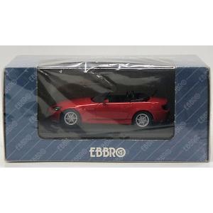 EBBRO 1/43 42 HONDA S 2000 NEW FORMULA RED|purasen