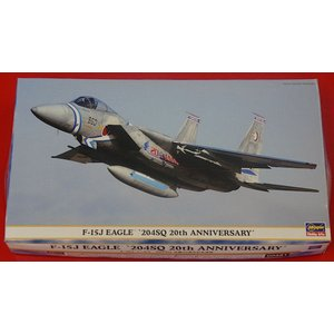 00381 F-15J イーグル '204SQ 改編20周年記念塗装' 1/72 F-15J EAGLE '204SQ 20th ANNIVERSARY'|purasen