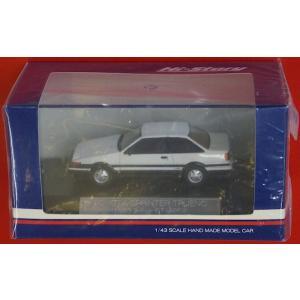 Hi-Story 1/43 TOYOTA SPRINTER TRUENO 1983 2door GT-APEX HS004 WHITE|purasen