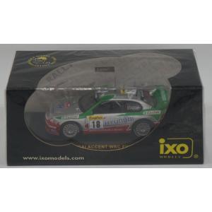 IXO 1/43 RAM075 HYUNDAI WRC #18 F.Loix MC 02|purasen