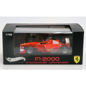 1/43 Ferrari F1-2000 M.SCHUMACHER JAPAN GP 2000|purasen