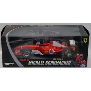 1/18 フェラーリ F2003-GA 2003 JAPAN GP MICHAEL SCHUMACHER|purasen