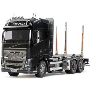 電動RCビッグトラックシリーズ No.60 1/14 RC ボルボFH16グローブトロッター750 6x4ティンバートラック|purasen