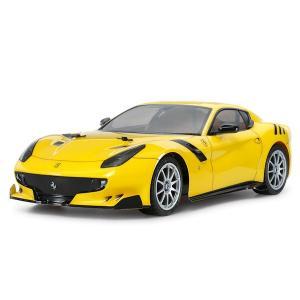 1/10 電動RCカーシリーズ No.644 フェラーリ F12tdf (TT-02シャーシ) F12tdf (TT-02 CHASSIS)|purasen