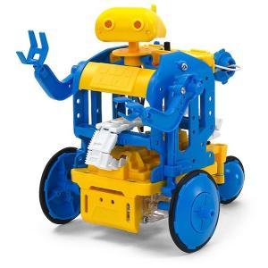 楽しい工作シリーズ(セット)特別企画 チェーンプログラムロボット工作セット (ブルー/イエロー)|purasen