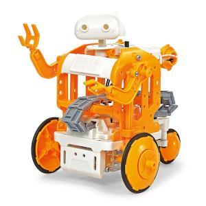 楽しい工作シリーズ(セット) No.232 チェーンプログラムロボット工作セット|purasen