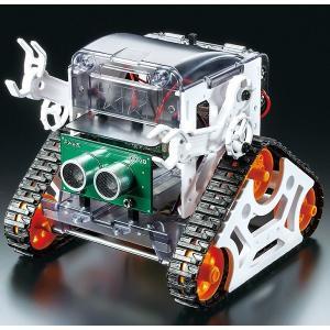 プログラミング工作シリーズ No.1 マイコンロボット工作セット (クローラータイプ) MICROCOMPUTER ROBOT (CRAWLER TYPE)|purasen