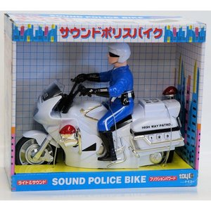 サウンド&ライト フリクションパワード サウンド&ライト サウンドポリスバイク|purasen